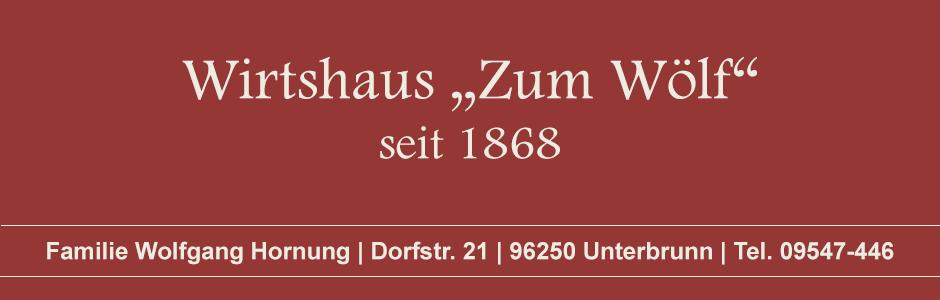 Zum Wölf | Wirtshaus und Biergarten Unterbrunn